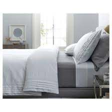 How To Make A Bed With A Duvet Modern Hotel Duvet U0026 Sham Set Fieldcrest Target
