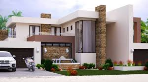 style home designs home design with 4 bedrooms modern style m497dnethouseplans