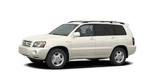 toyota highlander length 2005 toyota highlander v6 all wheel drive specs and prices
