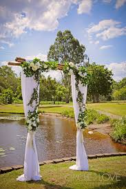 wedding arches brisbane underwood park wedding logan brisbane decorators