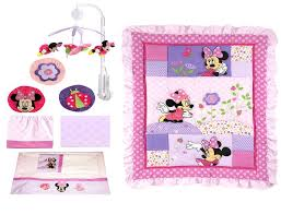 Crib Bedding Set Minnie Mouse Minnie Mouse Crib Bedding Set Walmart Home Design Remodeling Ideas