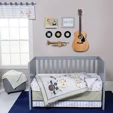 trend lab safari rock band 6 pc crib bedding set jcpenney
