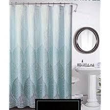 Cynthia Rowley Bathroom Amazon Com Cynthia Rowley Fabric Shower Curtain Stamped Ombre