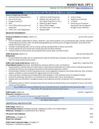 Phlebotomy Resume Examples by 28 Certified Phlebotomist Resume Templates Sample