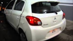mitsubishi mirage hatchback modified disauto mitsubishi mirage glx cvt 2015 youtube