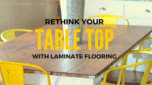 re think your table top