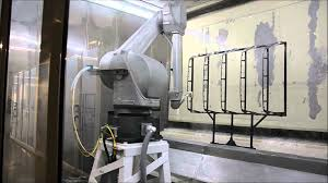 fanuc p250ia paint robot automotive components youtube