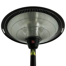 halogen patio heaters outsunny 1500w freestanding outdoor garden electric halogen patio