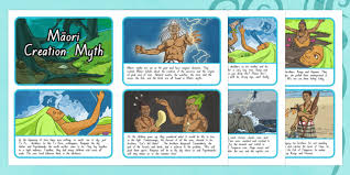 creation myth sequencing activity sheets worksheet