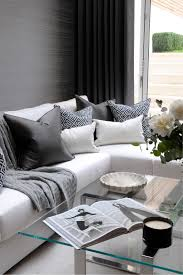 Two Tone Living Room Walls by Living Room Decorations Two Tone Black White Sectional Sofa