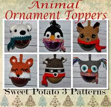 animal ornament canning jar toppers sweet potato 3