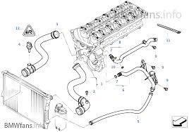 cooling system water hoses bmw 3 u0027 e46 330i m54 europe