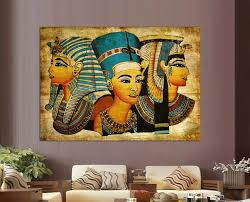 best new arrival pharaoh of egypt unframed home decoration