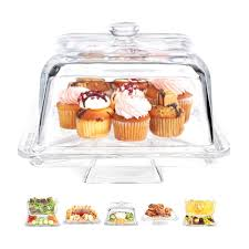 punch home design essentials amazon com home essentials square 6 in1 cake stand u0026 serving