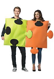 couples costume puzzle pieces couples costume costumes