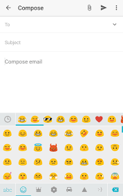 android smileys how do i switch between an enter emoji key on swiftkey keyboard