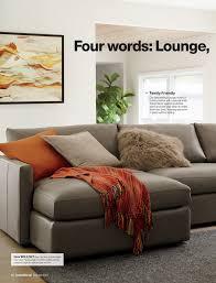 83w x 46d crate barrel lounge ii slipcovered sofa in slate crate