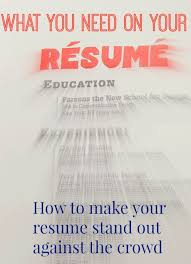 how to write a good resume college business and job interviews