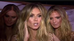 heidi klum seal halloween party heidi klum surrounds herself with five real life clones at her