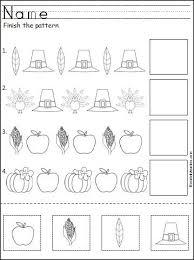 pattern math worksheets preschool the hm learning and study skills program level 2 teacher s guide