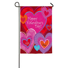 Decorative Hearts For The Home Happy Valentines Day Garden Flags Valentine U0027s Day Wikii