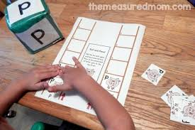 letter p activities for preschool the measured mom