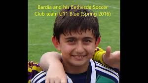 bardia and his bethesda soccer club team u11 blue 04 2016