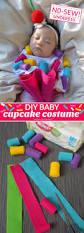 Cupcake Costume One Savvy Mom Nyc Area Mom Blog No Sew Diy Baby Cupcake