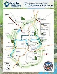 Atlanta Maps by Atlanta Beltline Map Map Of Atlanta Beltline United States Of