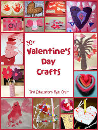30 valentine u0027s day crafts and activities for kids spin