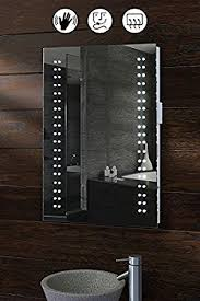 Led Light Mirror Bathroom My Furniture Opticon Illuminated Led Bathroom Mirror Co Uk