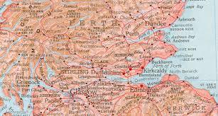 Map Of Glasgow Scotland Maps Of Scotland