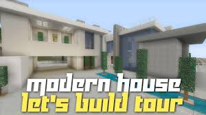 Modern Hosue by Minecraft Xbox 360 City Modern House Tour Completed Let U0027s Build
