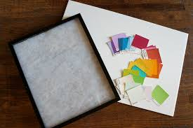 Paint Chips by Dry Erase Paint Chip Calendar The Baking Fairy