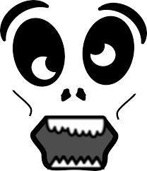 creepy clipart clipart cartoon zombie face