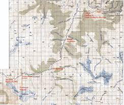 Topographical Map Of New Mexico by Map Of Choquequirao Trek Map3 High Resolution