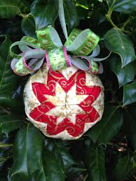 create kids couture quilted ornaments