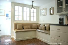 banquette cushions bench upholstered inspirations with round