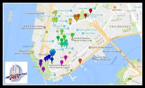 manhattan on map things to do in lower manhattan a self guided tour free tours