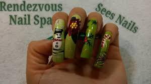 rendezvous nail spa nail art youtube