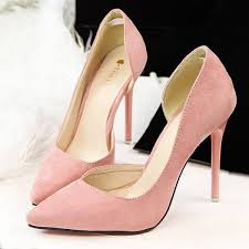 wedding shoes sandals women pumps high heel fashion pointed toe thin heel wedding