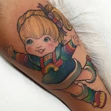 rainbow brite by brandon flores tattoos pinterest rainbow