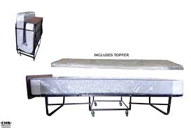 Single Folding Guest Bed Roll Away Beds Deluxe Space Saver Roll Away Bed Bedroom Guest