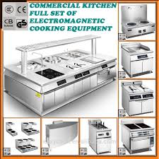 commercial kitchen equipment design professional kitchen