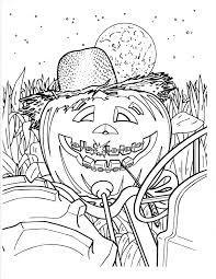 hard coloring pages halloween within shimosoku biz
