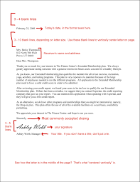 Business Letter Examples Free by Writing A Business Letter The Best Letter Sample