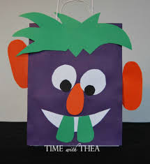 Halloween Crafts With Construction Paper Have Fun Making Monster Munch For Halloween Time With Thea