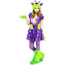 Amazon Halloween Costumes Kids Amazon Galaxy Alien Kids Costume Large 12 14 Toys