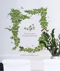 the secret garden tree wall stickers u2013 wallstickerdeal com