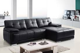 Small Leather Sofa With Chaise Small Leather Sofa With Chaise Facil Furniture